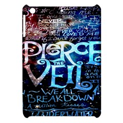 Pierce The Veil Quote Galaxy Nebula Apple Ipad Mini Hardshell Case by Onesevenart