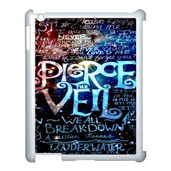 Pierce The Veil Quote Galaxy Nebula Apple Ipad 3/4 Case (white) by Onesevenart