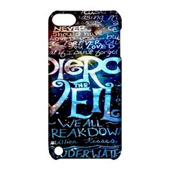 Pierce The Veil Quote Galaxy Nebula Apple Ipod Touch 5 Hardshell Case With Stand by Onesevenart