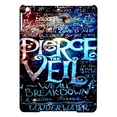 Pierce The Veil Quote Galaxy Nebula Ipad Air Hardshell Cases by Onesevenart