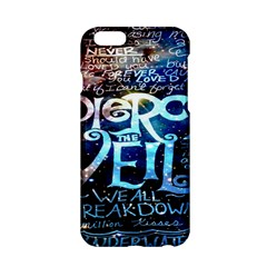 Pierce The Veil Quote Galaxy Nebula Apple Iphone 6/6s Hardshell Case by Onesevenart