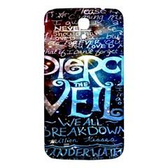 Pierce The Veil Quote Galaxy Nebula Samsung Galaxy Mega I9200 Hardshell Back Case by Onesevenart