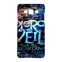 Pierce The Veil Quote Galaxy Nebula Samsung Galaxy A5 Hardshell Case  by Onesevenart