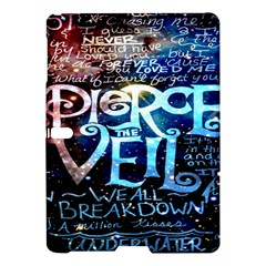 Pierce The Veil Quote Galaxy Nebula Samsung Galaxy Tab S (10 5 ) Hardshell Case  by Onesevenart