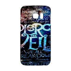 Pierce The Veil Quote Galaxy Nebula Galaxy S6 Edge by Onesevenart