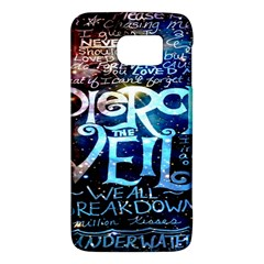Pierce The Veil Quote Galaxy Nebula Galaxy S6 by Onesevenart