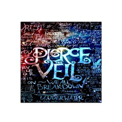 Pierce The Veil Quote Galaxy Nebula Satin Bandana Scarf by Onesevenart