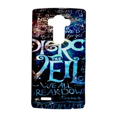 Pierce The Veil Quote Galaxy Nebula Lg G4 Hardshell Case by Onesevenart