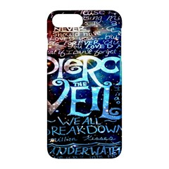 Pierce The Veil Quote Galaxy Nebula Apple Iphone 7 Plus Hardshell Case by Onesevenart