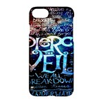 Pierce The Veil Quote Galaxy Nebula Apple iPhone 7 Hardshell Case