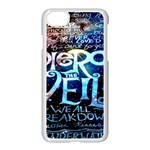 Pierce The Veil Quote Galaxy Nebula Apple iPhone 7 Seamless Case (White)