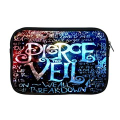 Pierce The Veil Quote Galaxy Nebula Apple Macbook Pro 17  Zipper Case by Onesevenart