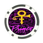 Prince Poster Poker Chip Card Guard