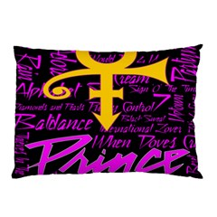Prince Poster Pillow Case (two Sides) by Onesevenart