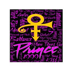 Prince Poster Small Satin Scarf (square) by Onesevenart