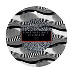 Sometimes Quiet Is Violent Twenty One Pilots The Meaning Of Blurryface Album Ornament (Round)