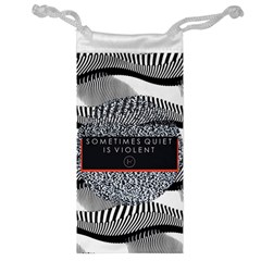 Sometimes Quiet Is Violent Twenty One Pilots The Meaning Of Blurryface Album Jewelry Bag by Onesevenart