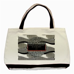 Sometimes Quiet Is Violent Twenty One Pilots The Meaning Of Blurryface Album Basic Tote Bag by Onesevenart