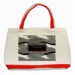 Sometimes Quiet Is Violent Twenty One Pilots The Meaning Of Blurryface Album Classic Tote Bag (red) by Onesevenart