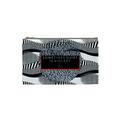 Sometimes Quiet Is Violent Twenty One Pilots The Meaning Of Blurryface Album Cosmetic Bag (small)  by Onesevenart