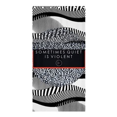 Sometimes Quiet Is Violent Twenty One Pilots The Meaning Of Blurryface Album Shower Curtain 36  X 72  (stall)  by Onesevenart