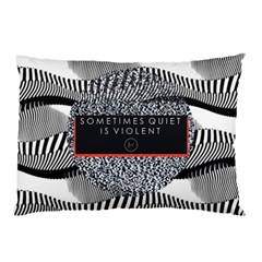 Sometimes Quiet Is Violent Twenty One Pilots The Meaning Of Blurryface Album Pillow Case (two Sides) by Onesevenart