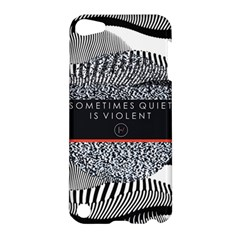 Sometimes Quiet Is Violent Twenty One Pilots The Meaning Of Blurryface Album Apple Ipod Touch 5 Hardshell Case by Onesevenart