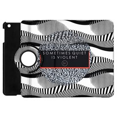 Sometimes Quiet Is Violent Twenty One Pilots The Meaning Of Blurryface Album Apple Ipad Mini Flip 360 Case by Onesevenart