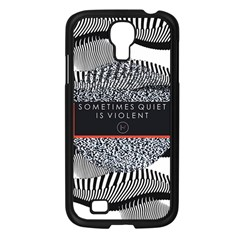 Sometimes Quiet Is Violent Twenty One Pilots The Meaning Of Blurryface Album Samsung Galaxy S4 I9500/ I9505 Case (black) by Onesevenart