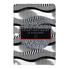 Sometimes Quiet Is Violent Twenty One Pilots The Meaning Of Blurryface Album Samsung Galaxy Tab Pro 12 2 Hardshell Case by Onesevenart