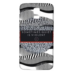 Sometimes Quiet Is Violent Twenty One Pilots The Meaning Of Blurryface Album Samsung Galaxy S5 Back Case (white) by Onesevenart