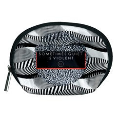 Sometimes Quiet Is Violent Twenty One Pilots The Meaning Of Blurryface Album Accessory Pouches (medium)  by Onesevenart