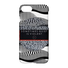 Sometimes Quiet Is Violent Twenty One Pilots The Meaning Of Blurryface Album Apple Iphone 7 Hardshell Case by Onesevenart