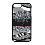 Sometimes Quiet Is Violent Twenty One Pilots The Meaning Of Blurryface Album Apple iPhone 7 Plus Seamless Case (Black)