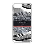 Sometimes Quiet Is Violent Twenty One Pilots The Meaning Of Blurryface Album Apple iPhone 7 Plus White Seamless Case