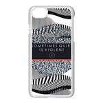 Sometimes Quiet Is Violent Twenty One Pilots The Meaning Of Blurryface Album Apple iPhone 7 Seamless Case (White)