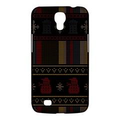 Tardis Doctor Who Ugly Holiday Samsung Galaxy Mega 6 3  I9200 Hardshell Case by Onesevenart