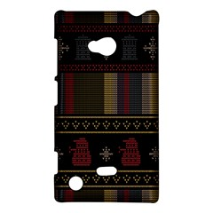 Tardis Doctor Who Ugly Holiday Nokia Lumia 720 by Onesevenart