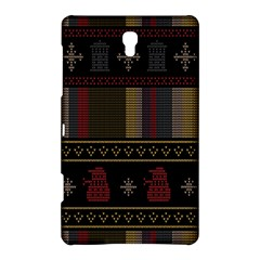 Tardis Doctor Who Ugly Holiday Samsung Galaxy Tab S (8 4 ) Hardshell Case  by Onesevenart