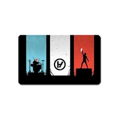Twenty One 21 Pilots Magnet (name Card) by Onesevenart