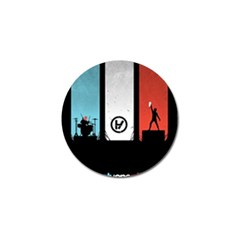 Twenty One 21 Pilots Golf Ball Marker (4 Pack) by Onesevenart