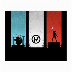Twenty One 21 Pilots Small Glasses Cloth (2 Side) by Onesevenart