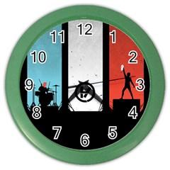 Twenty One 21 Pilots Color Wall Clocks by Onesevenart