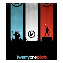 Twenty One 21 Pilots Shower Curtain 66  X 72  (large)  by Onesevenart