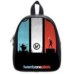 Twenty One 21 Pilots School Bags (small)  by Onesevenart