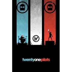 Twenty One 21 Pilots 5 5  X 8 5  Notebooks by Onesevenart