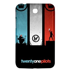 Twenty One 21 Pilots Samsung Galaxy Tab 3 (7 ) P3200 Hardshell Case  by Onesevenart