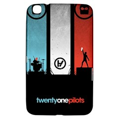 Twenty One 21 Pilots Samsung Galaxy Tab 3 (8 ) T3100 Hardshell Case  by Onesevenart