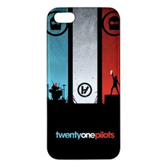 Twenty One 21 Pilots Iphone 5s/ Se Premium Hardshell Case by Onesevenart