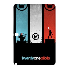 Twenty One 21 Pilots Samsung Galaxy Tab Pro 12 2 Hardshell Case by Onesevenart